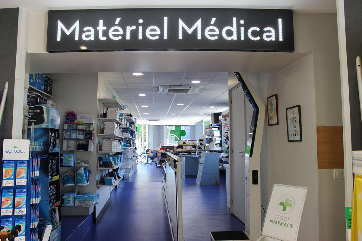 Notre Matériel médical